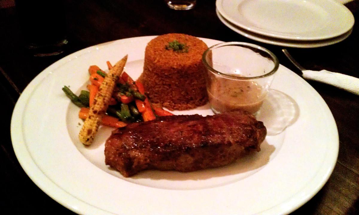 Grilled Sirlion (BDT 675 + 25% Service & VAT)