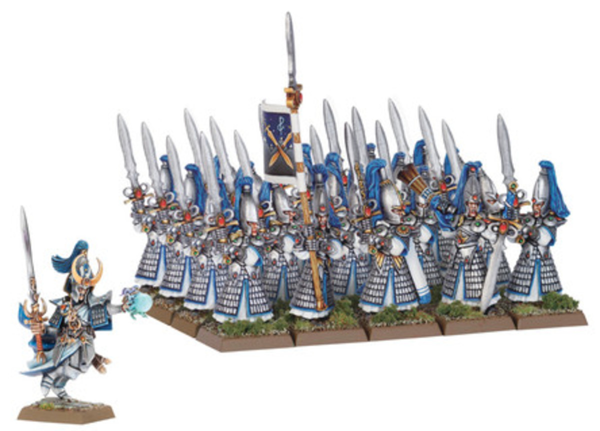 Top Ten Citadel Paints for your High Elf Army