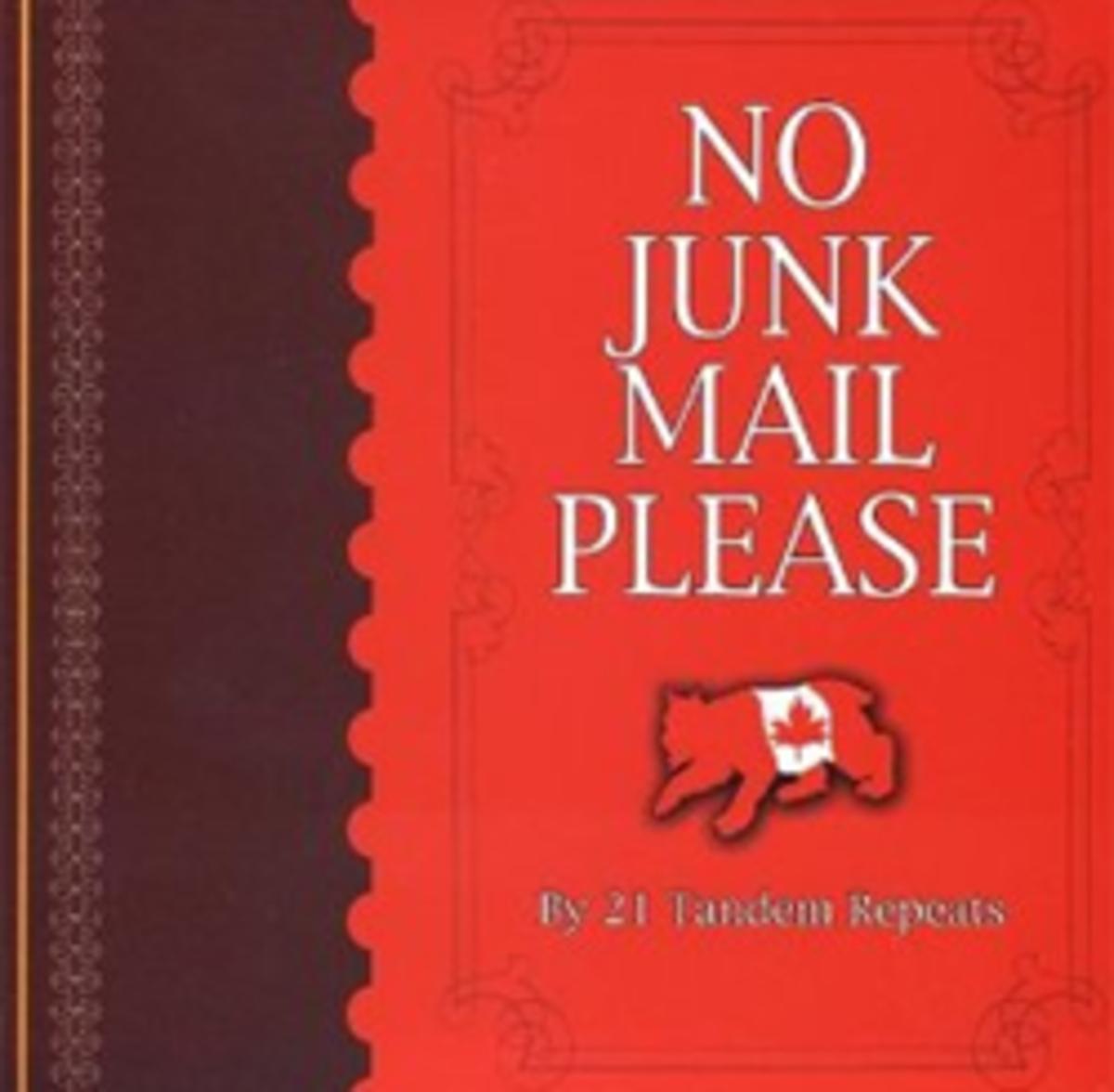 No Junk Mail Please on Amazon.com
