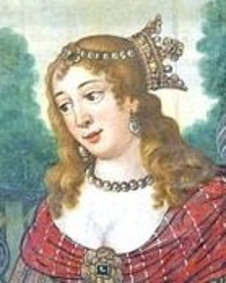 Cleopatra is often described as a redhead.