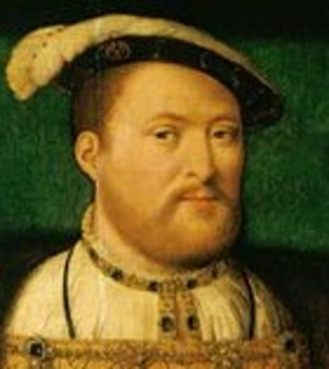 Tudor royals typically had red hair.