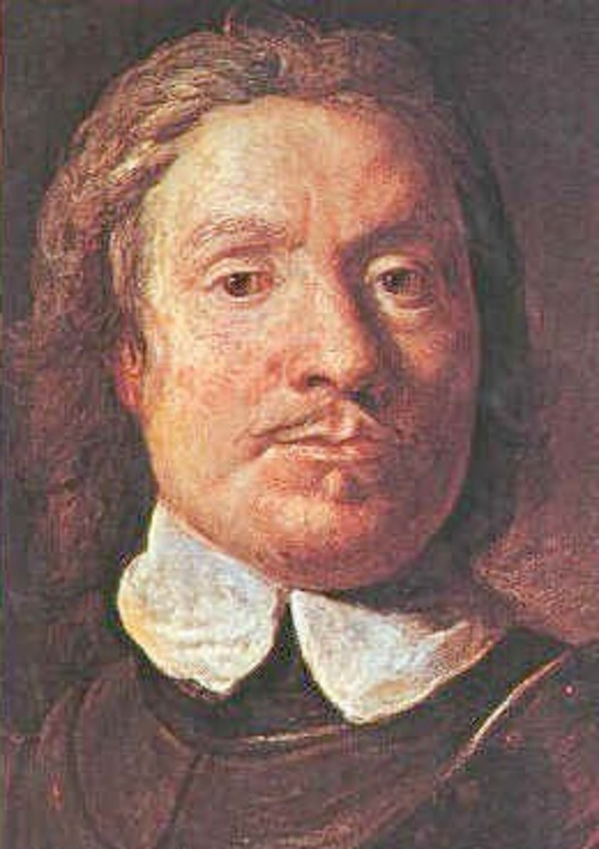 Oliver Cromwell deposed King Charles I.