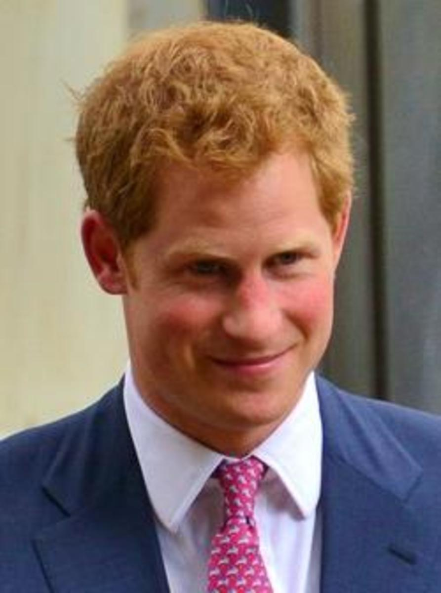 Prince Harry while in the US.