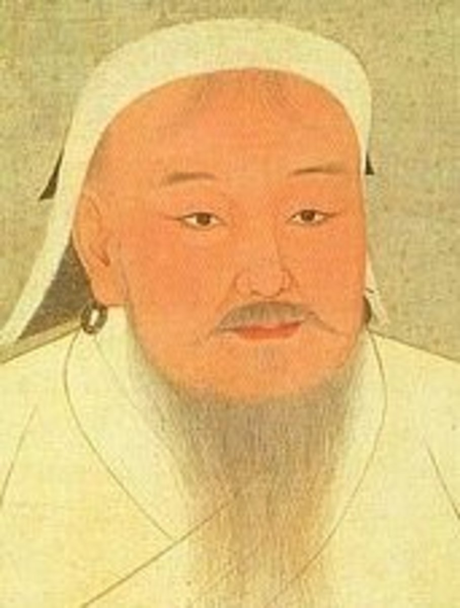 Like many Mongolians throughout history, Genghis Khan had red hair.