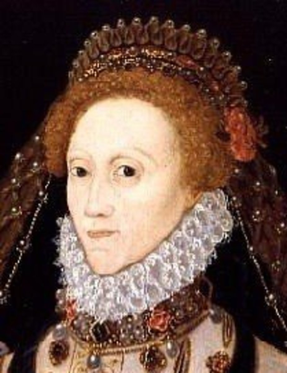 Elizabeth I was another Tudor redhead.