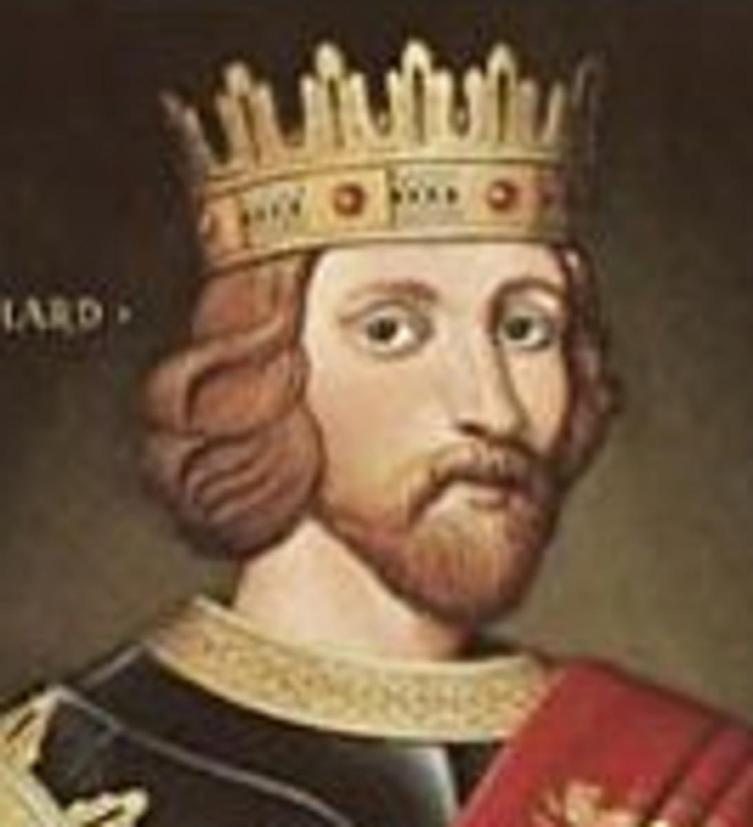 Richard I Lionheart of England.