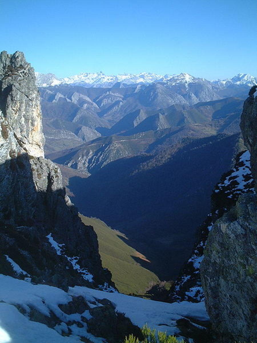 Picos de Europa in Asturais