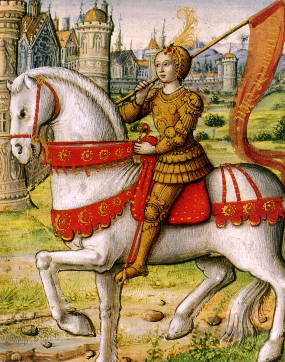 Joan of Arc. Victim of mandrake?
