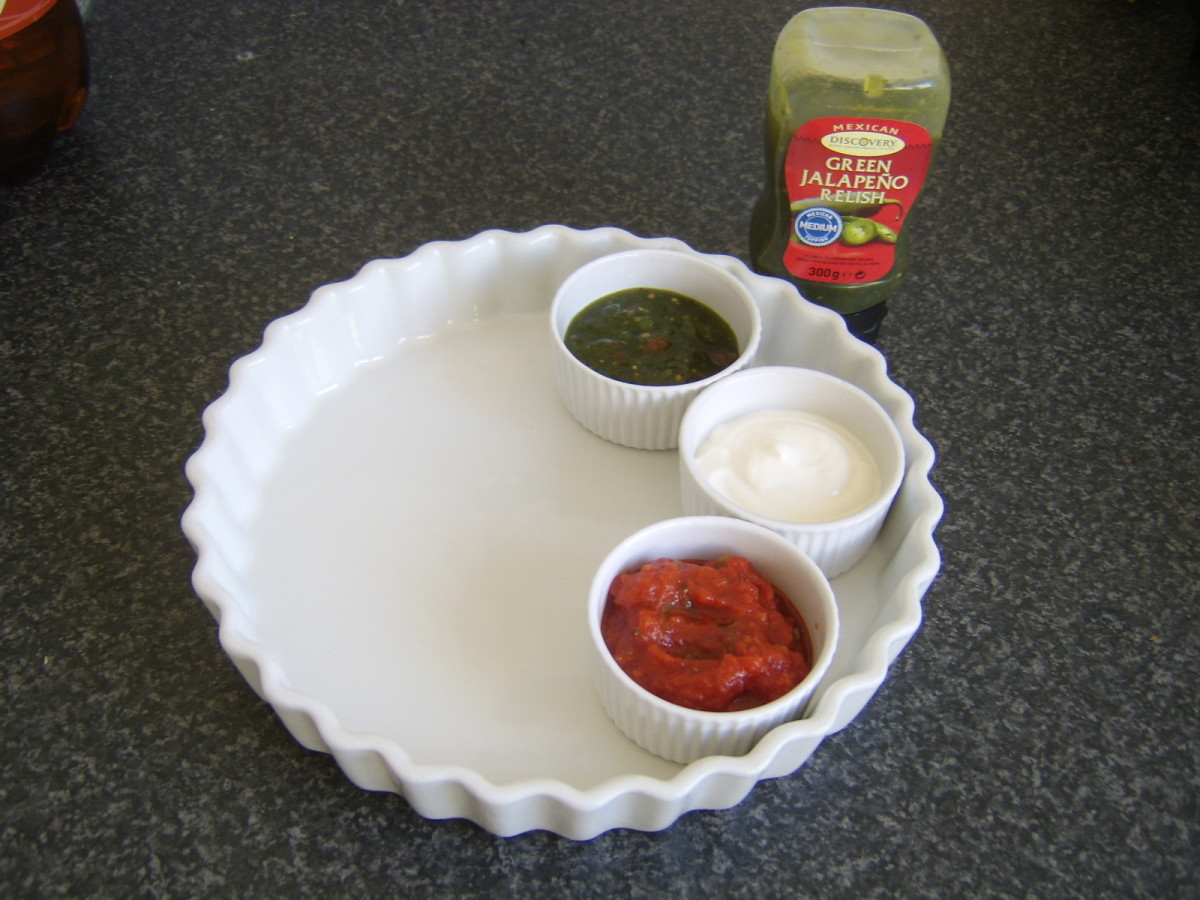 Dips for cocktail sausage tacos