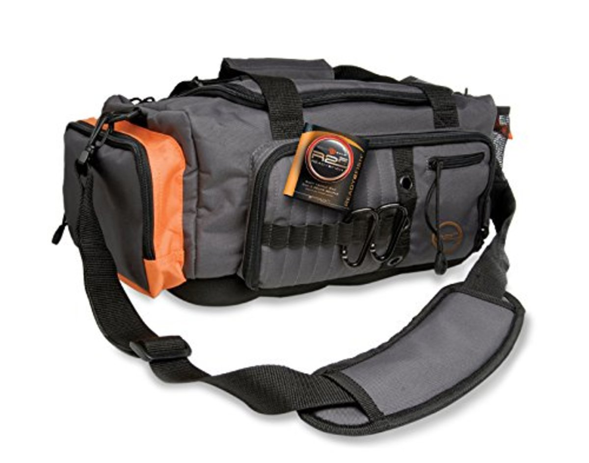This fishing tackle bag is perfect for dads who love fishing and frequently go out on fishing trips