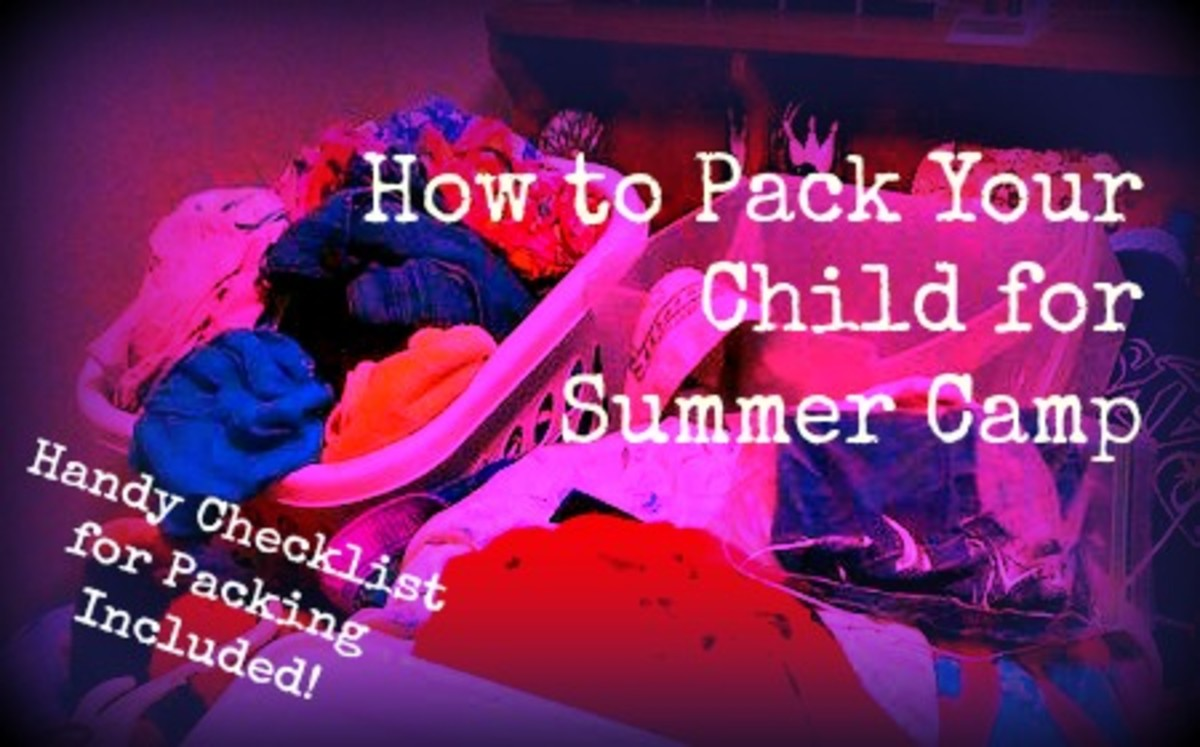 How to Pack Your Child for Summer Camp