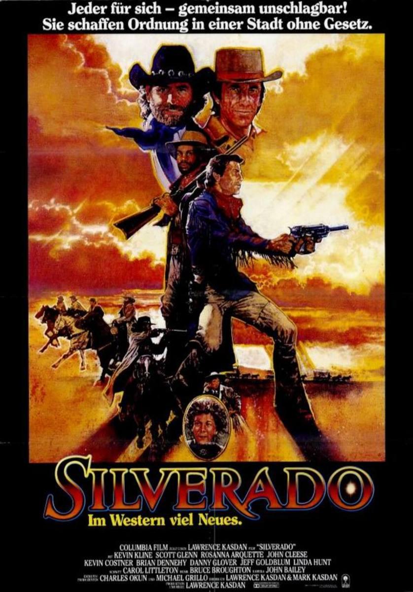 Silverado (1985) German poster