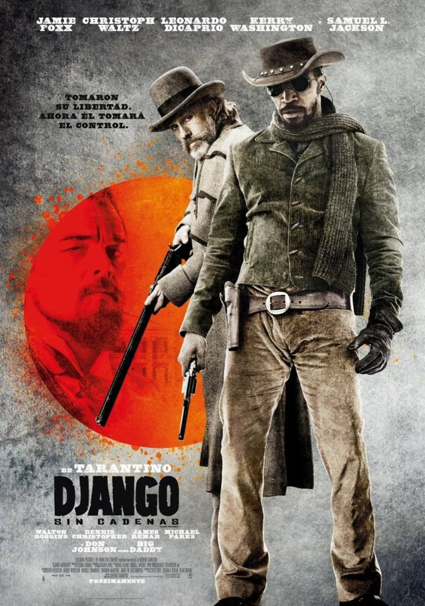 Django Unchained (2012) Mexican poster