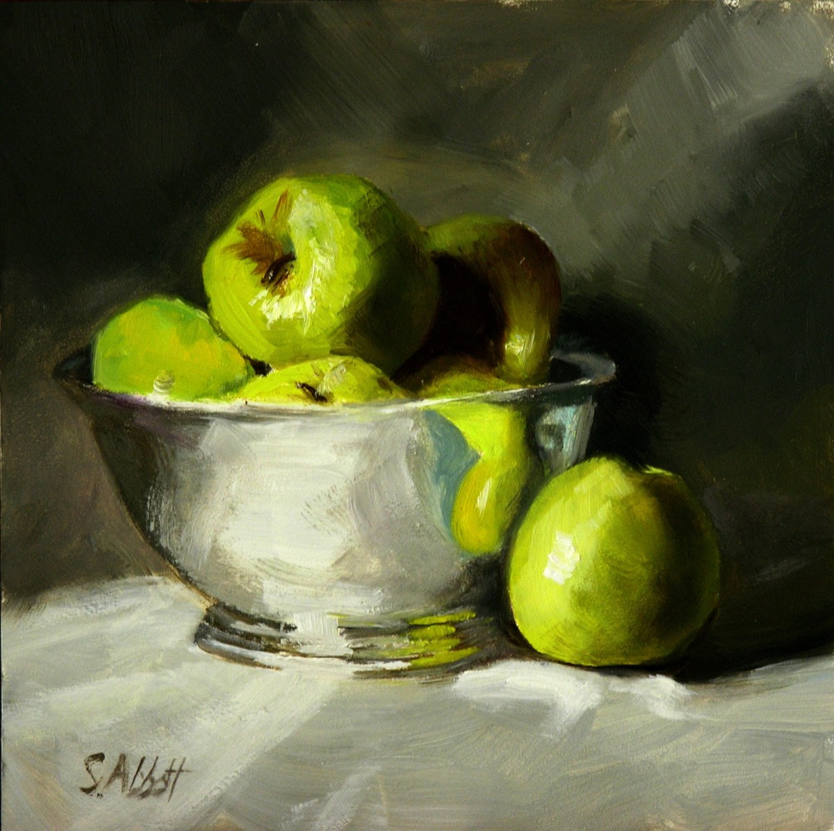"""A word fitly spoken is like apples of gold in pictures of silver.""  Proverbs 25:11."