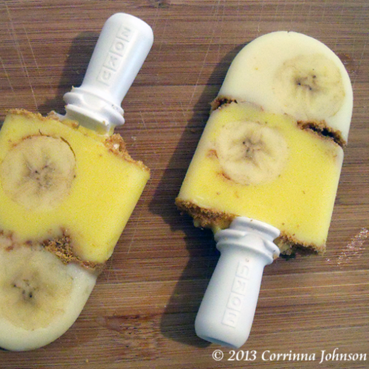 Banana Cream Pie Popsicles Recipe