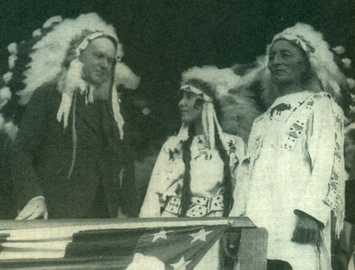 August 27, 1927 U.S. President Calvin Coolidge was adopted as an honorary member of the Sioux tribe in recognition of his support for the Indian Citizenship Act of 1924, granting full U.S. citizenship to all American Indians