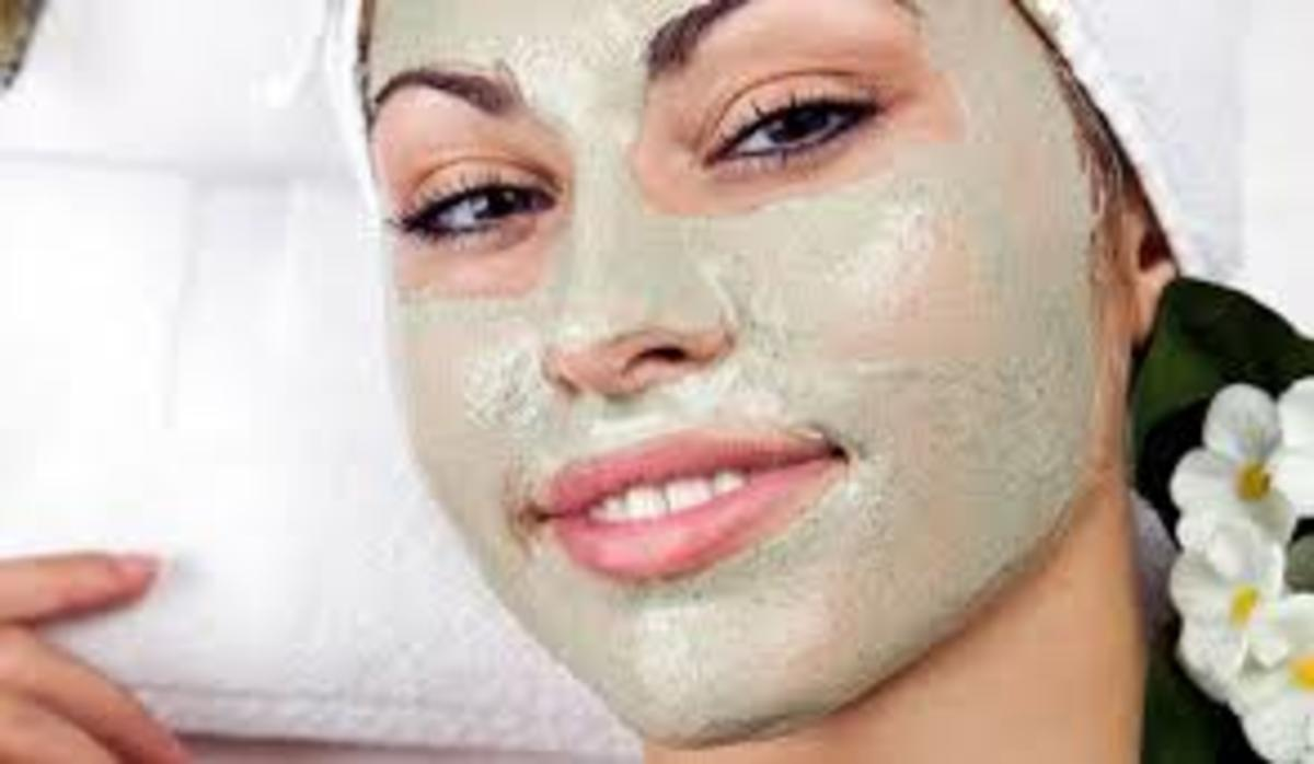 Peppermint facial mask leaves skin cool and refreshed