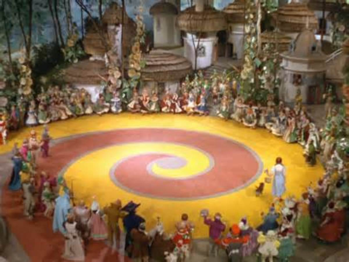 The milieu is Oz in this classic