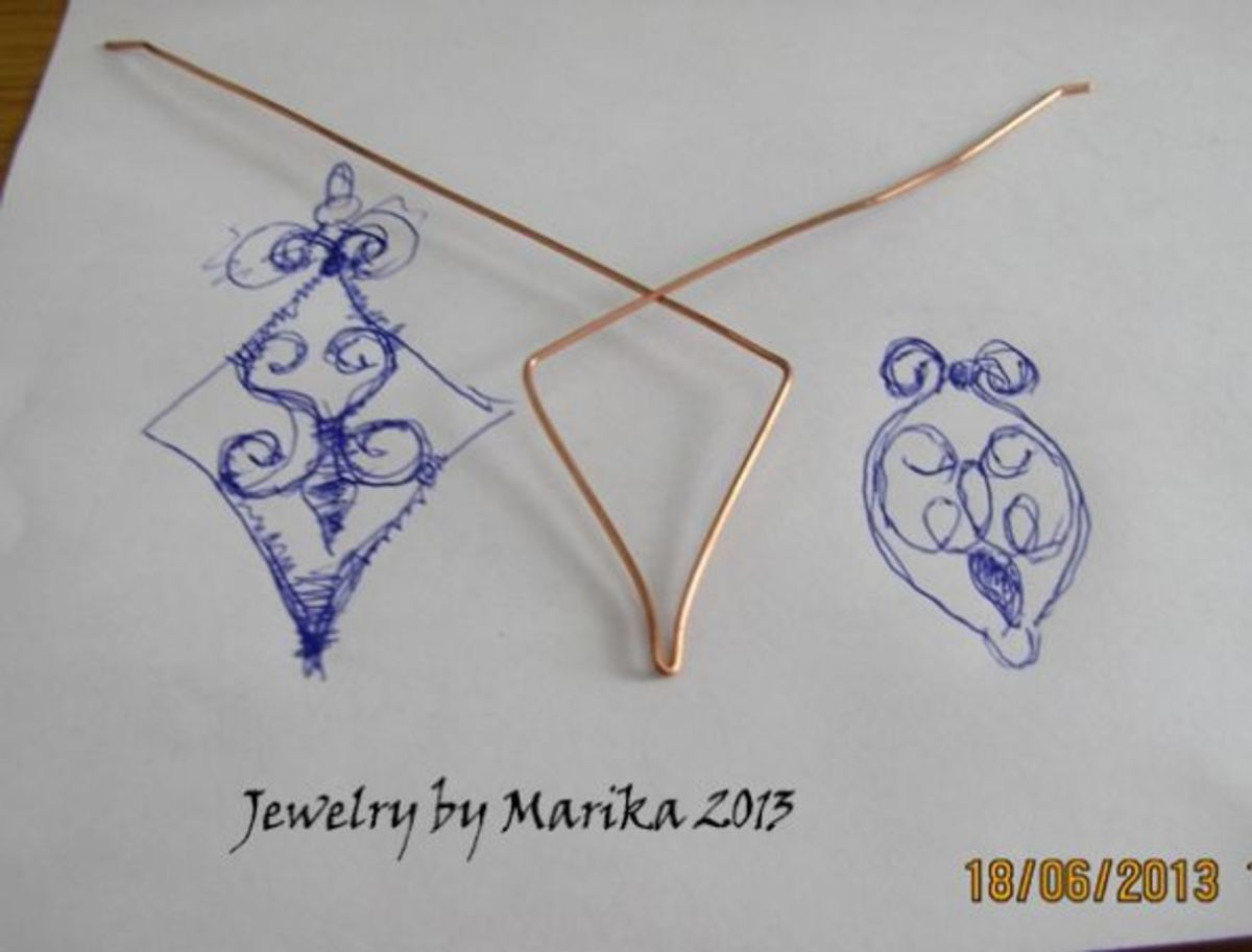 make the pendant frame