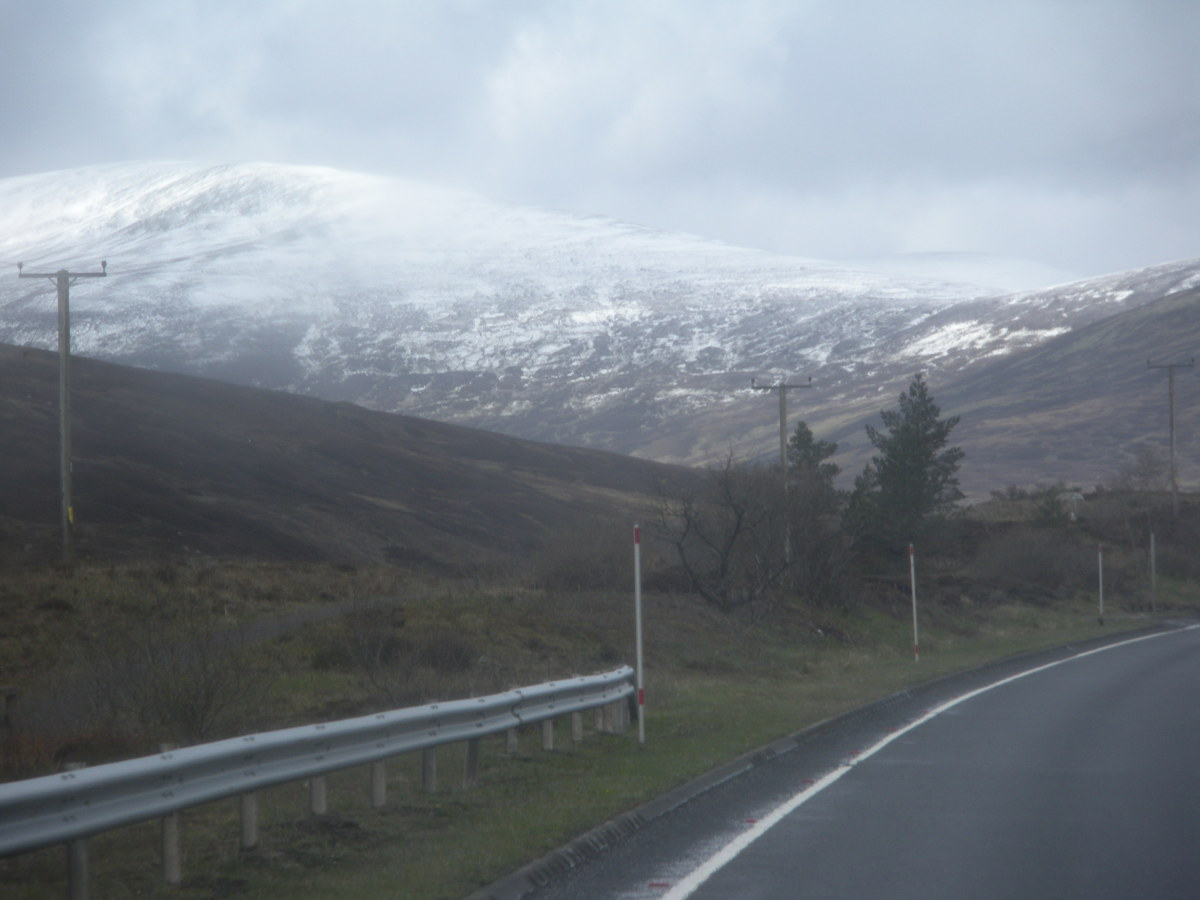You are heading for the Scottish highlands, so plan for cold weather.