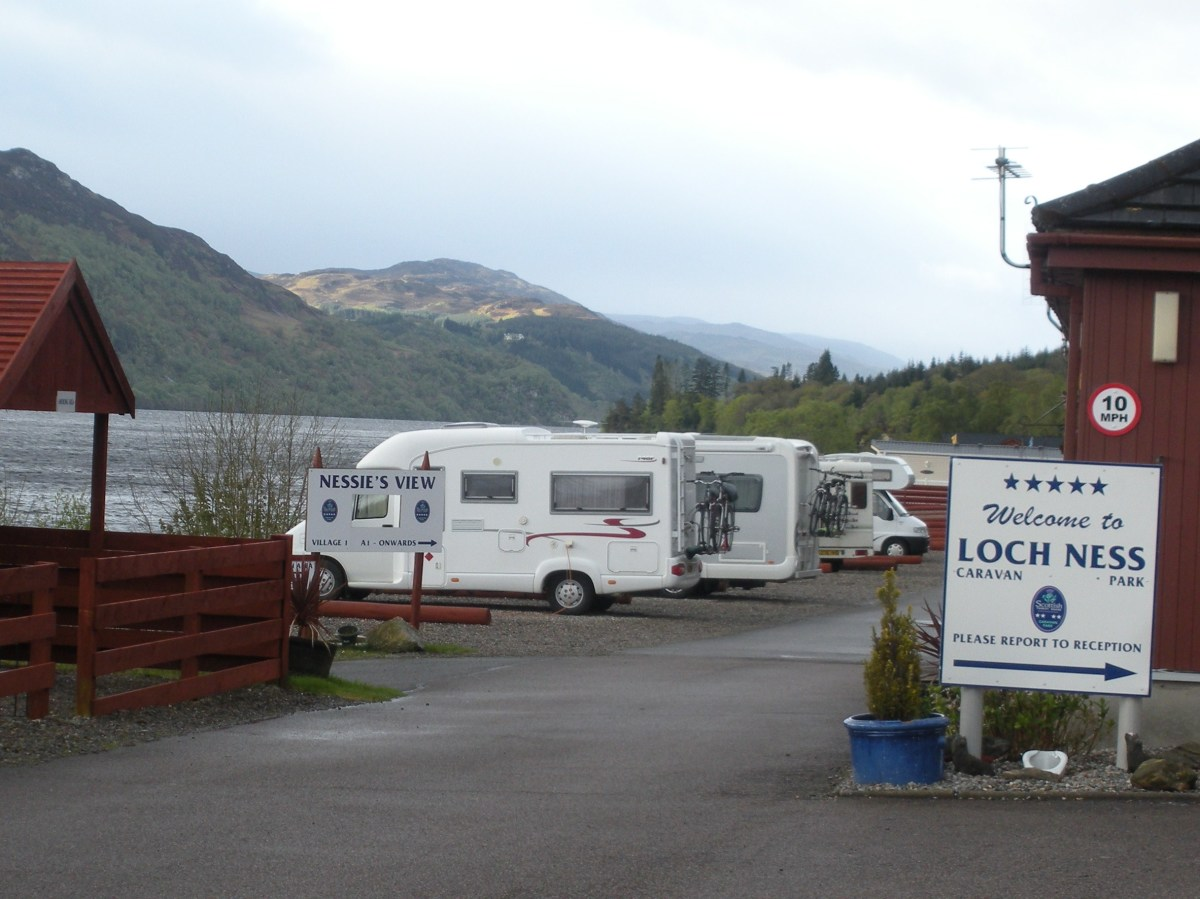 If you choose to visit a campground at Loch Ness, you won't be alone. Nessie spotting is a popular activity.