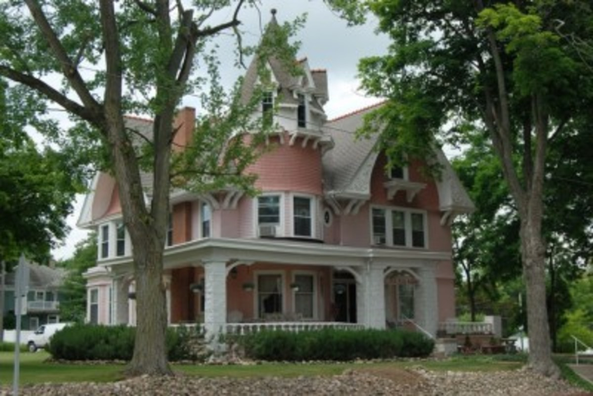 The Solomon Mier home is now Laura's Victorian Inn Bed & Breakfast