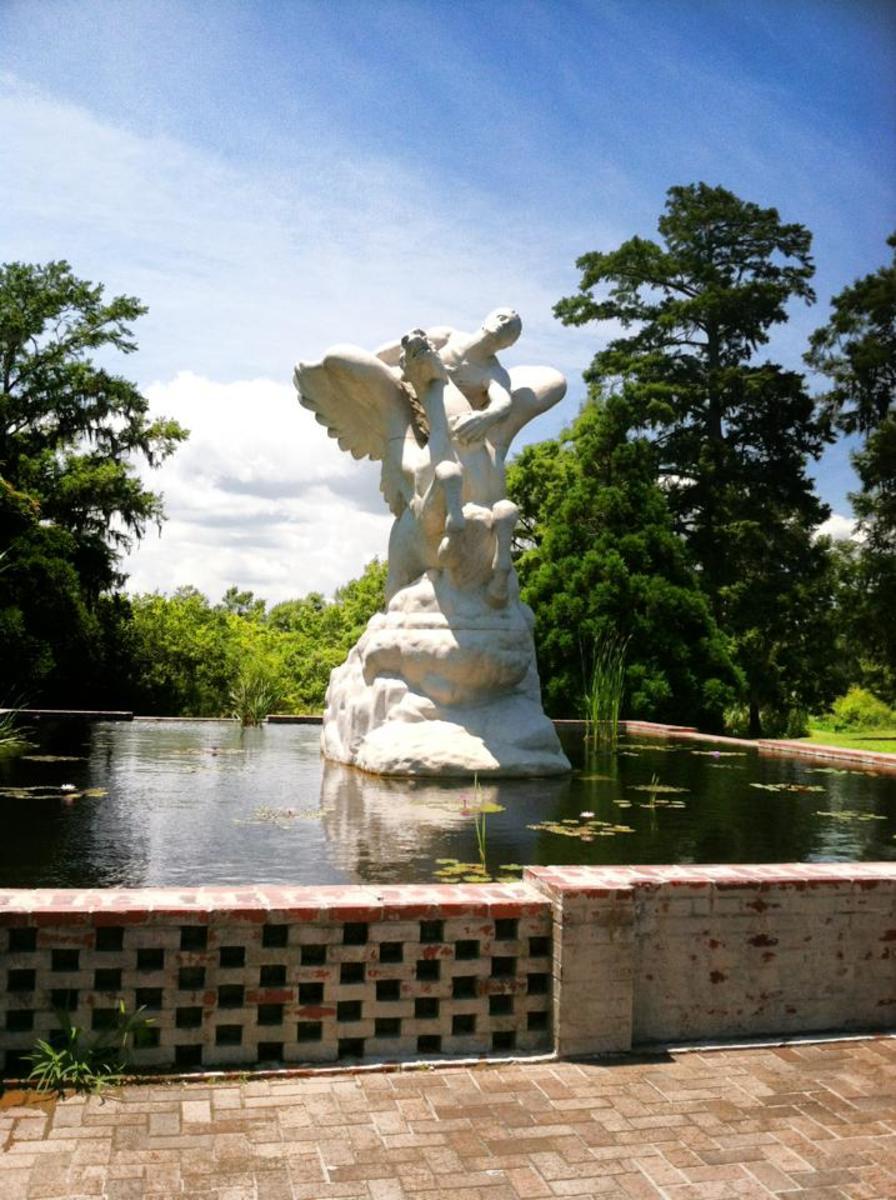 Brookgreen Gardens Sculpture Fountain