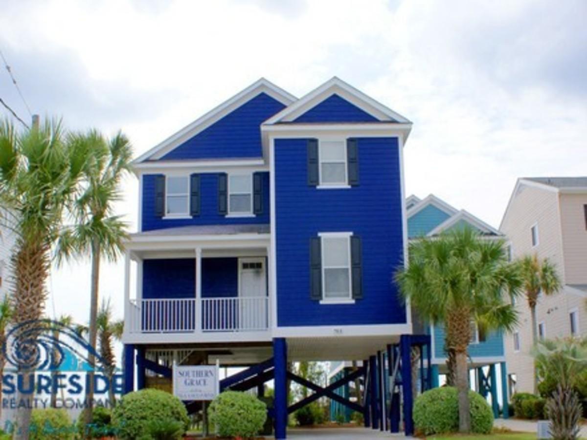 """Southern Grace"" Beach House"