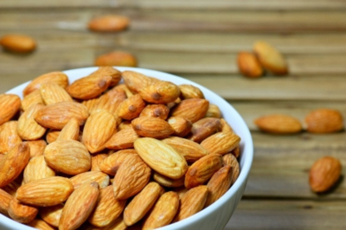 never use almond oil or almonds in skin care recipes if you have a nut allergy.