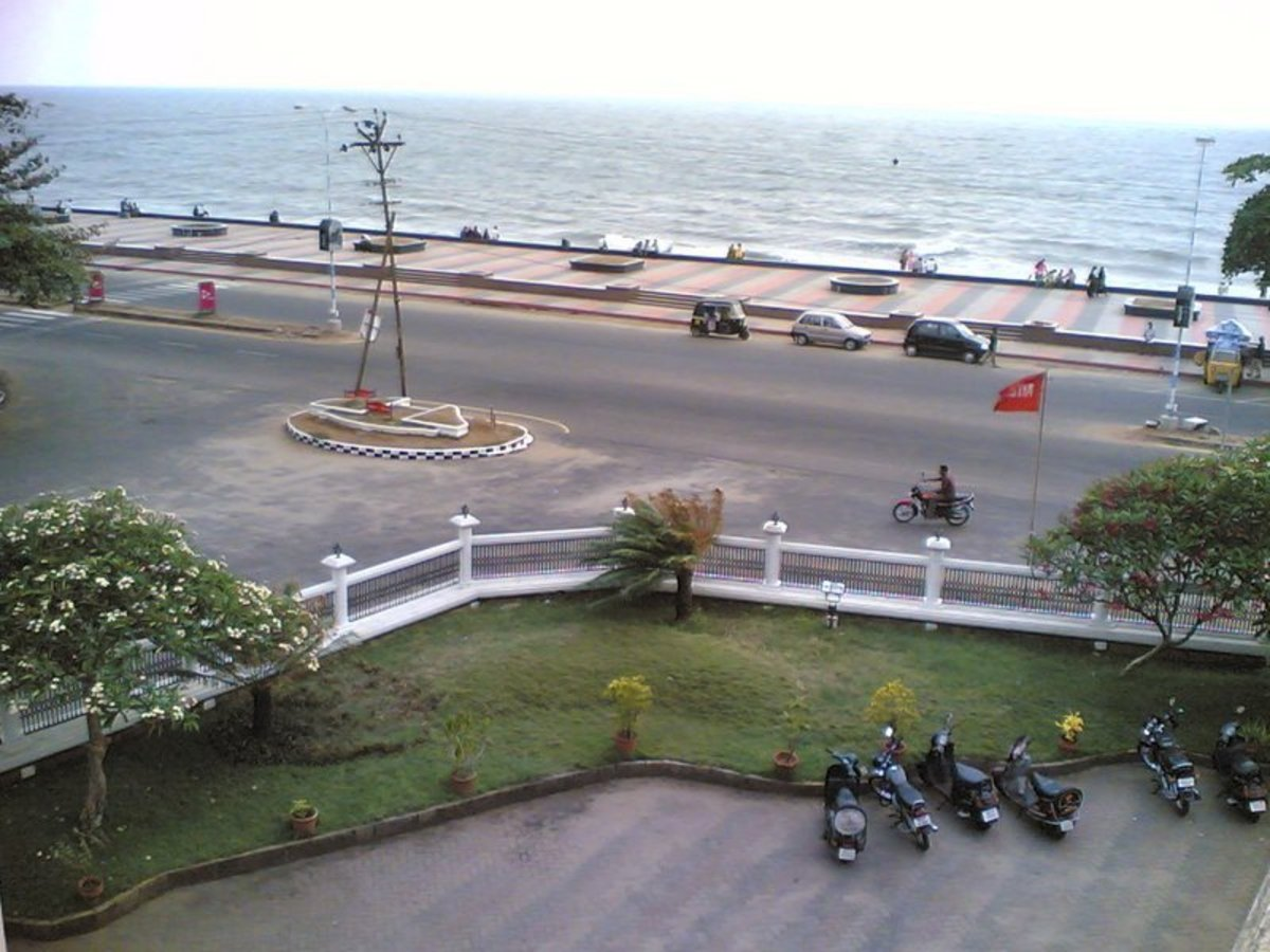 Another view of the Kozhikode Beach