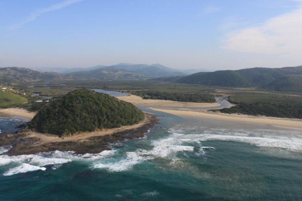 Wild coast Lagoon