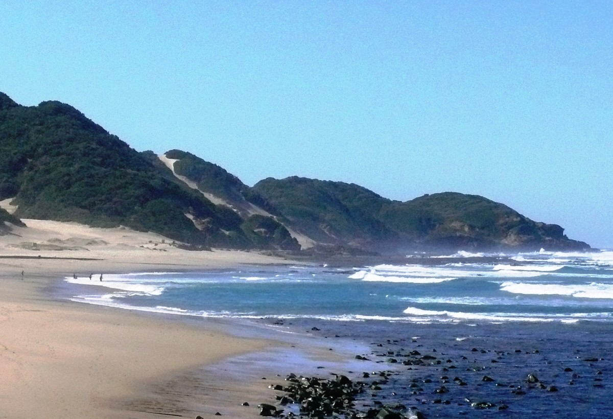 Warm beaches and big coastal dunes