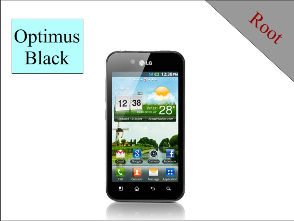 Root Your LG Optimus Black