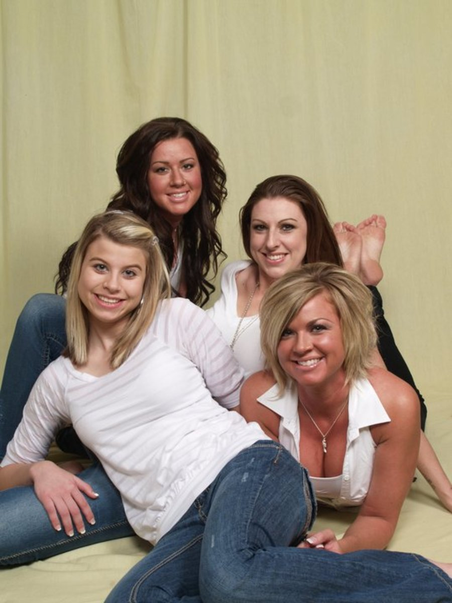 Four healthy daughters may not have been possible for the author had she birthed them before the 1965.