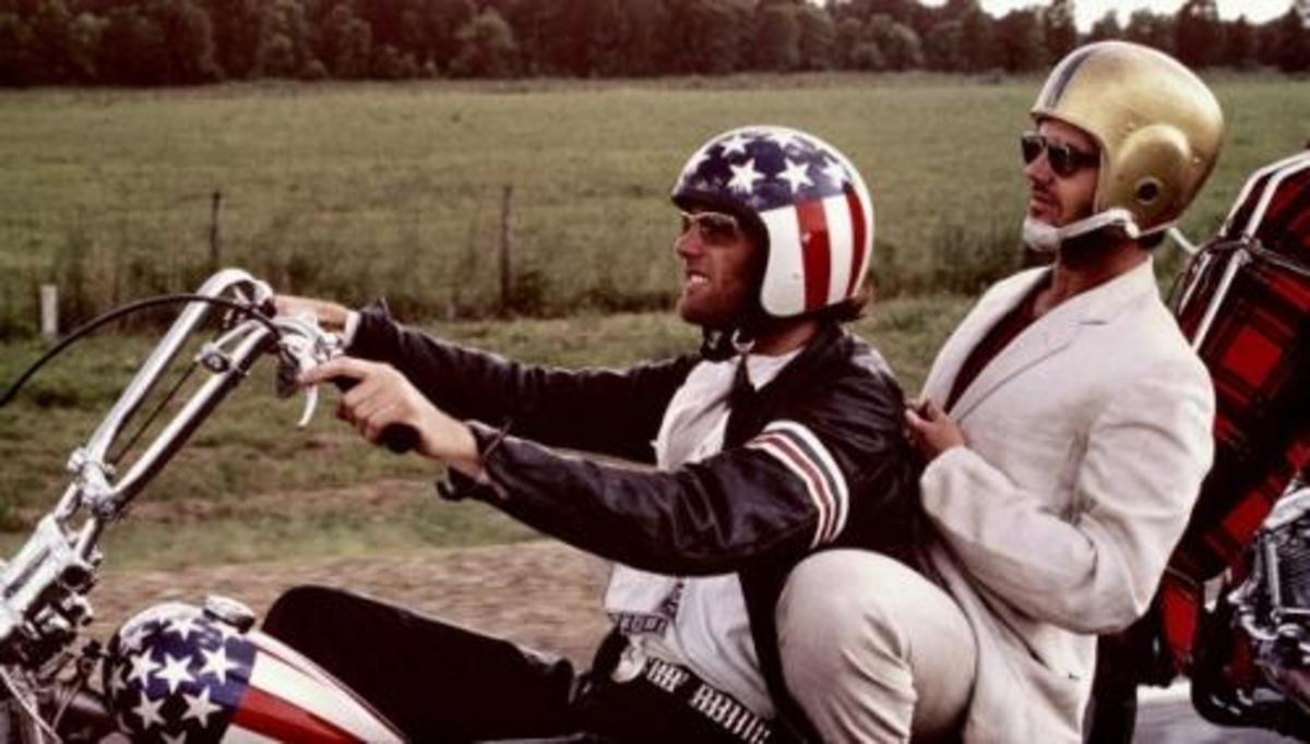 Peter Fonda and Jack Nicholson