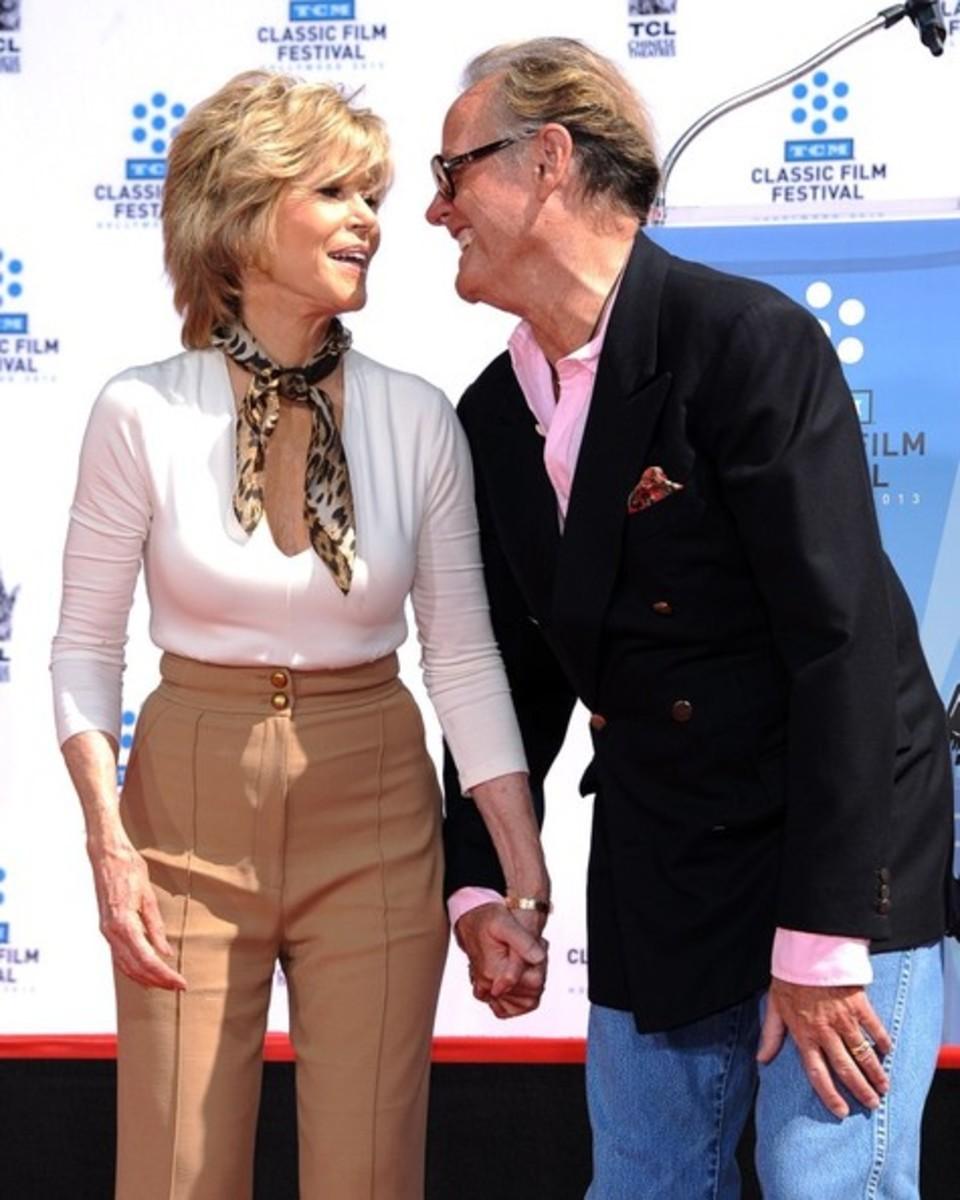 Jane Fonda and Peter Fonda