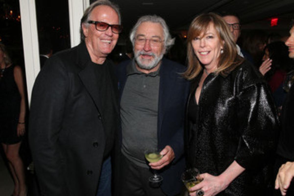 Peter Fonda in 2017 with Robert DeNero