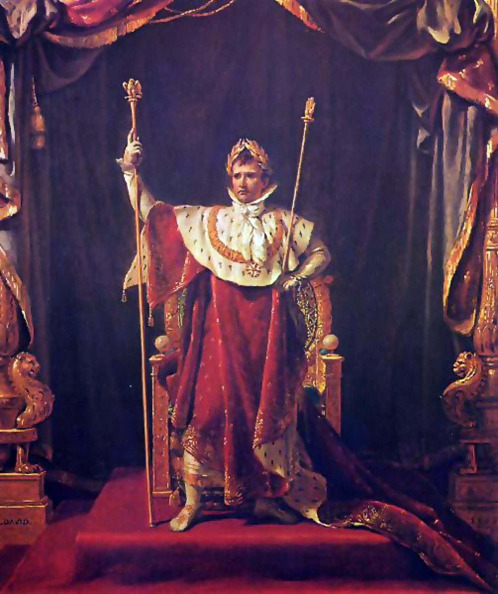 Portrait of Napoléon (in imperial costume)