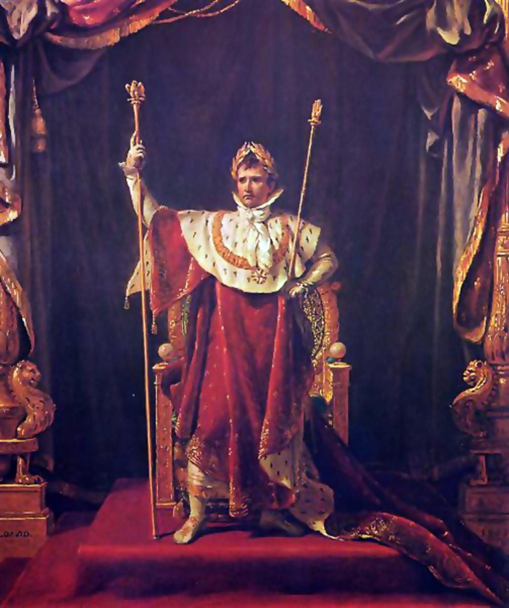 Portrait of Napoléon (in imperial costume)