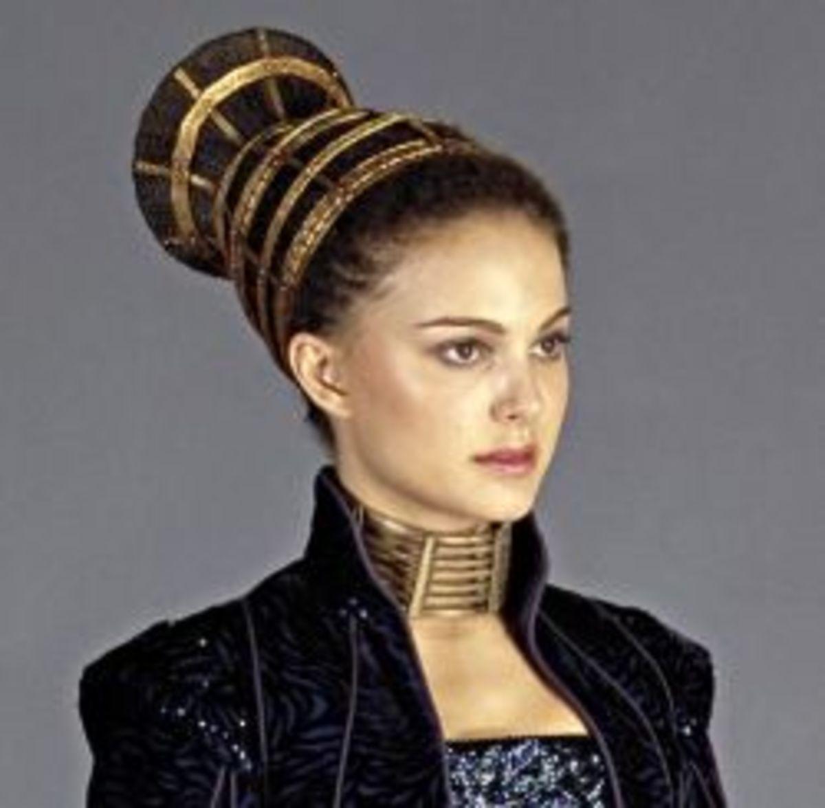 Natalie Portman as Padme Amidala from Star Wars Episode II