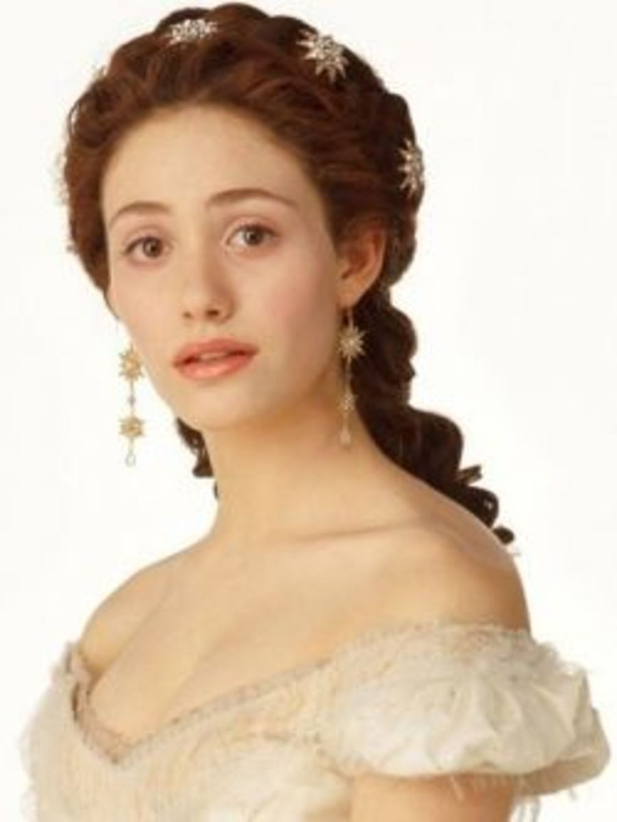 Emmy Rossum as Christine Daae from The Phantom of the Opera