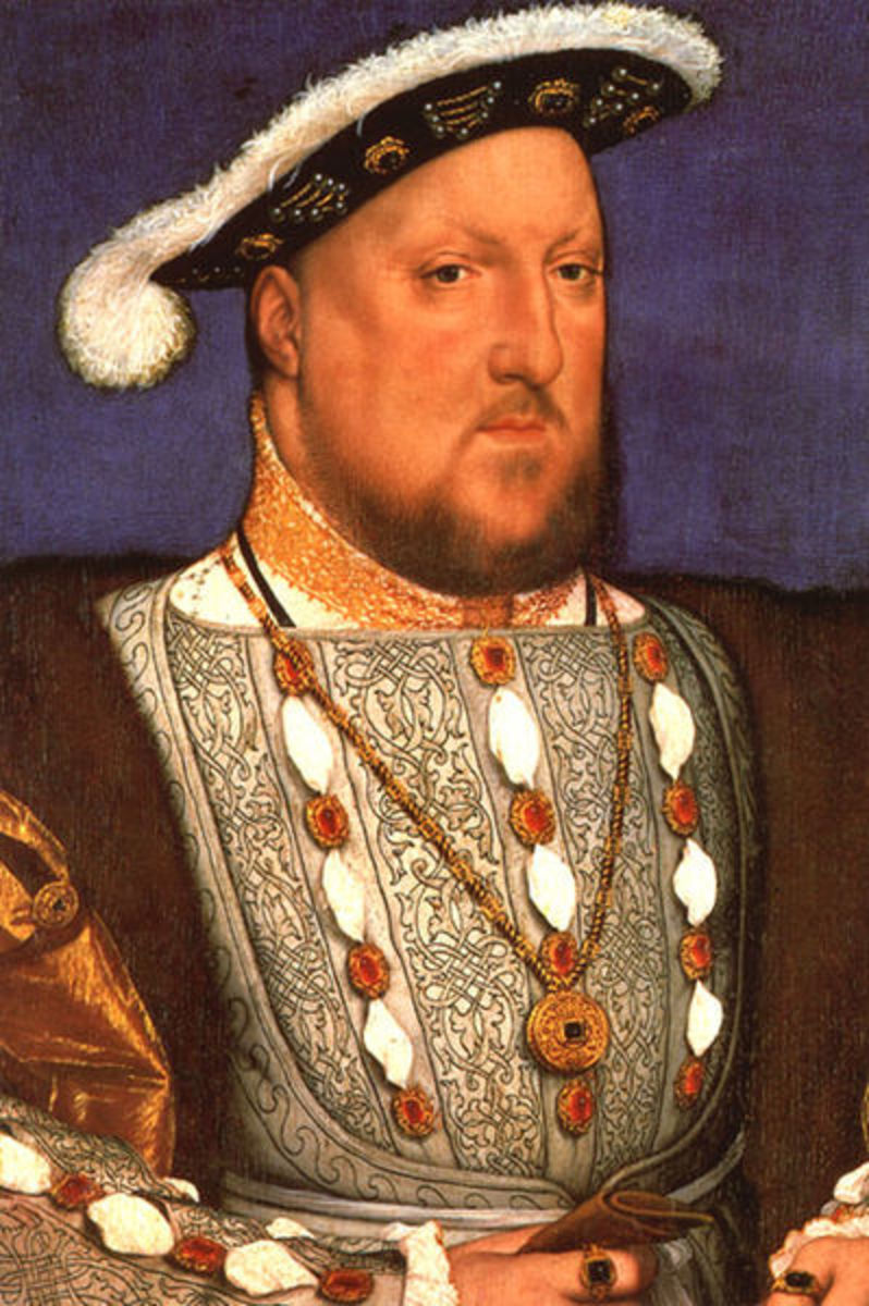 Henry VIII was very proud to finally have a son