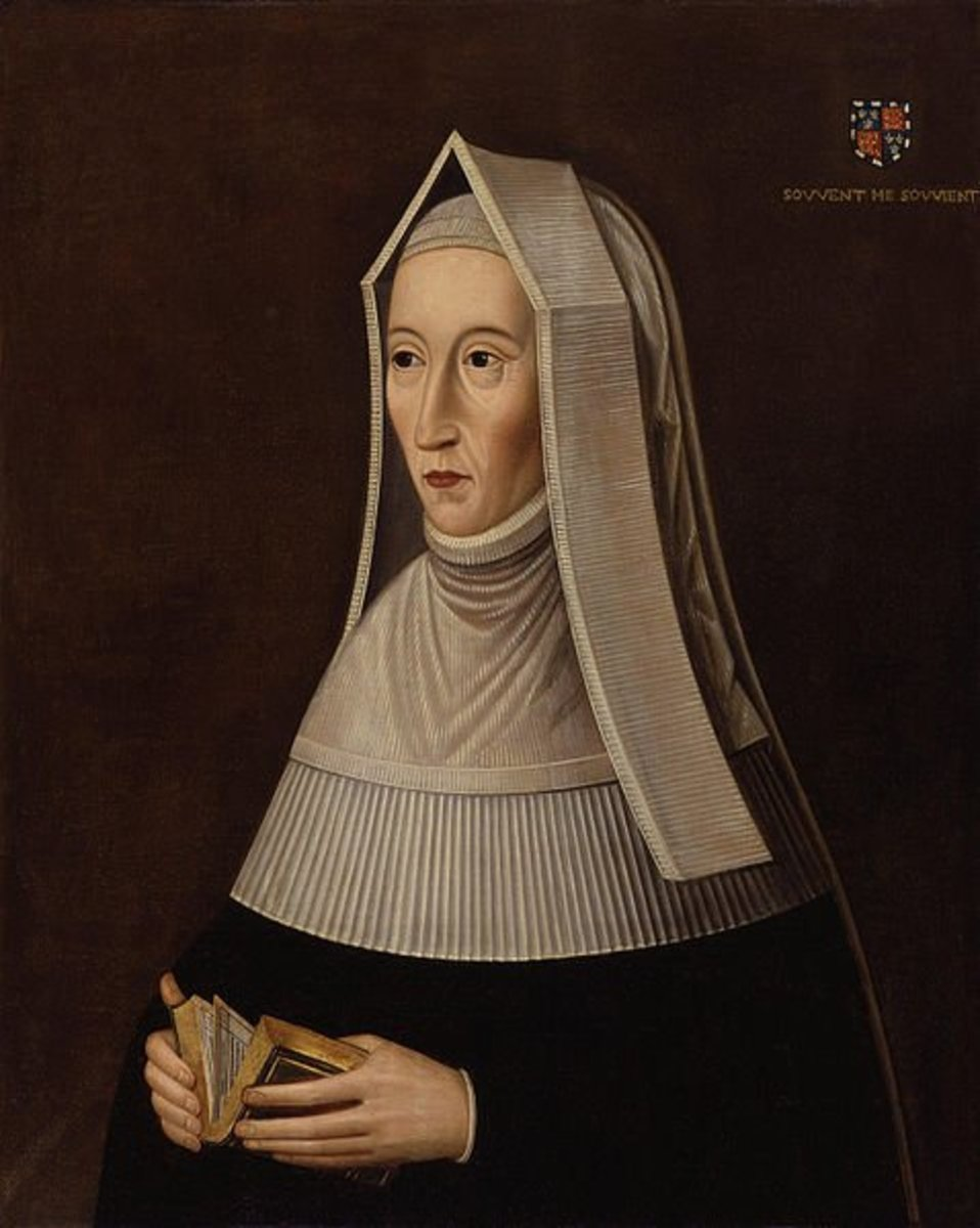 Henry FitzRoy inherited many of Margaret Beaufort's lands
