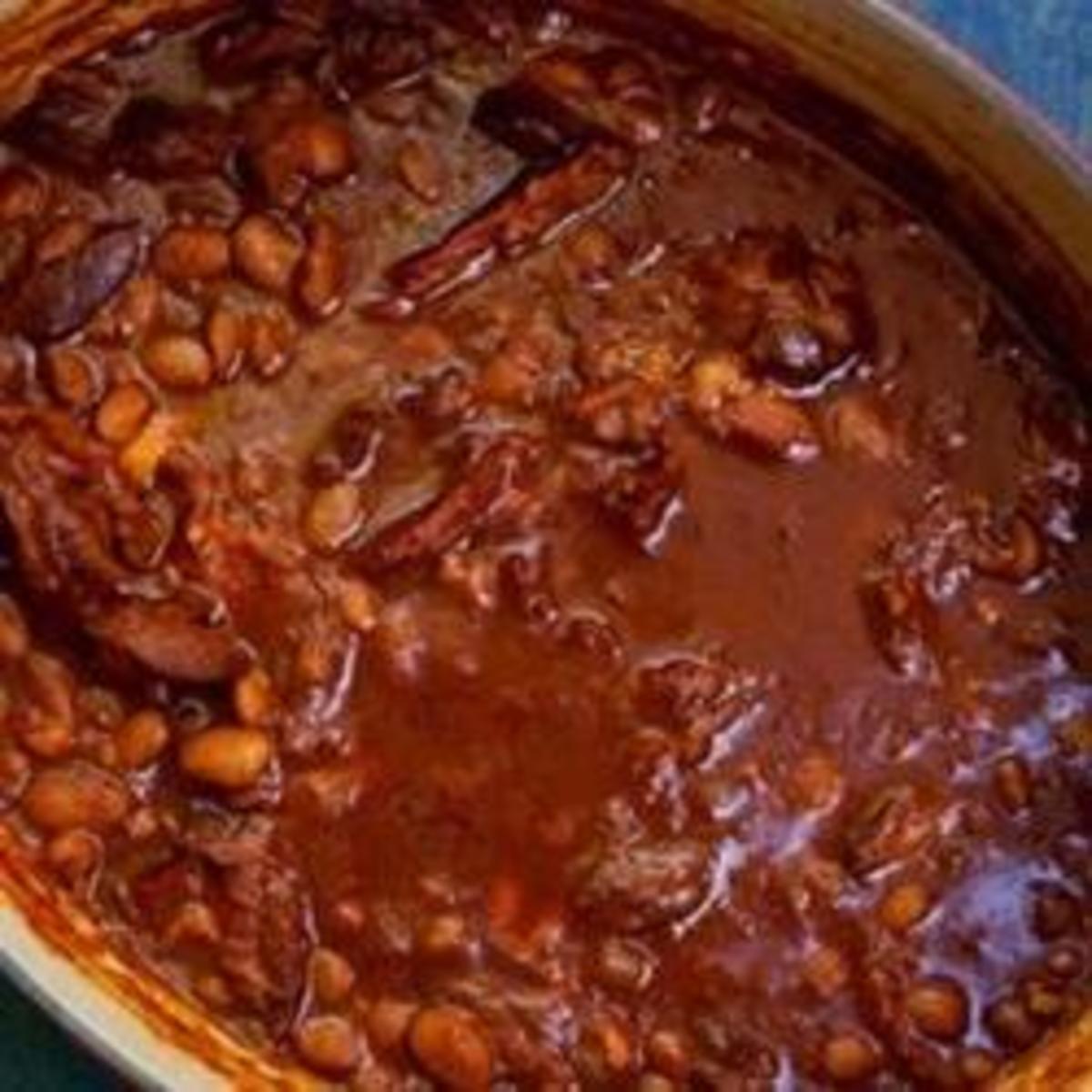 Delicious Homemade Cowboy Beans