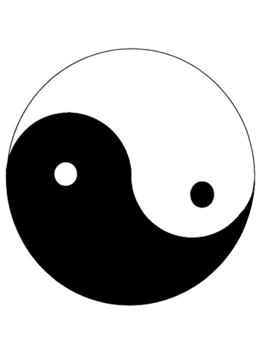The Taijitu represents the principle of Yin and Yang, which is one of the oldest and best-known life symbols in the world.