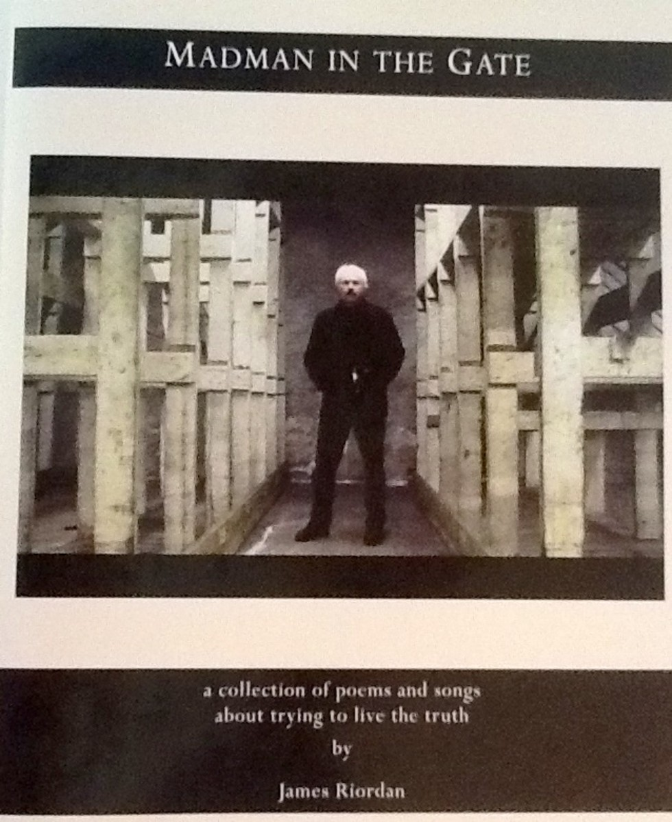 Riordan: Madman in the Gate is a collection of songs and poems accompanied by artwork and photographs from some of the top artists around the world.