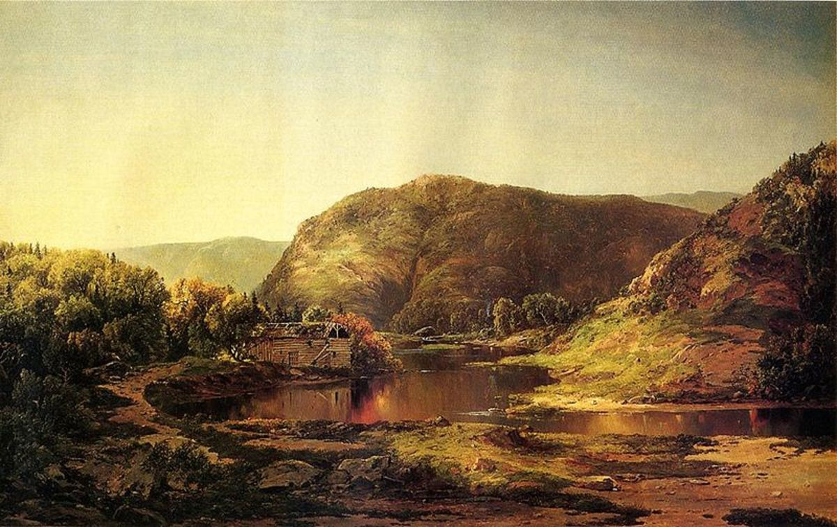 Shenandoah Valley, oil on canvas, William Louis Sonntag, Sr., 1859–1860. Virginia Historical Society
