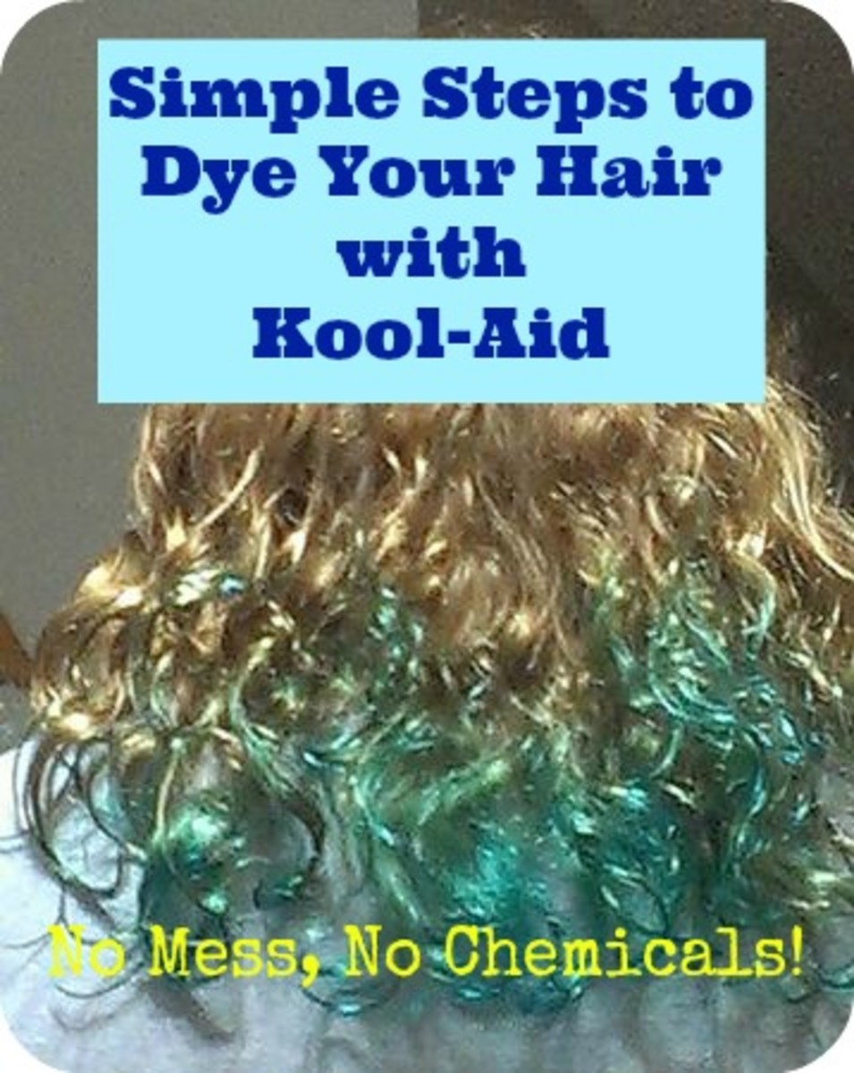 How to Dye Your Hair with Kool-Aid - No Peroxide, No Chemicals, Fun Colors
