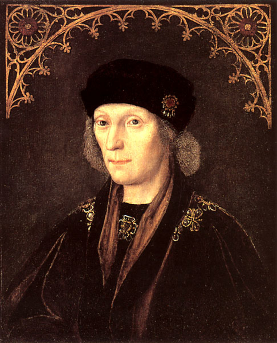 Henry VII had a problem with being from an 'illegitimate' line