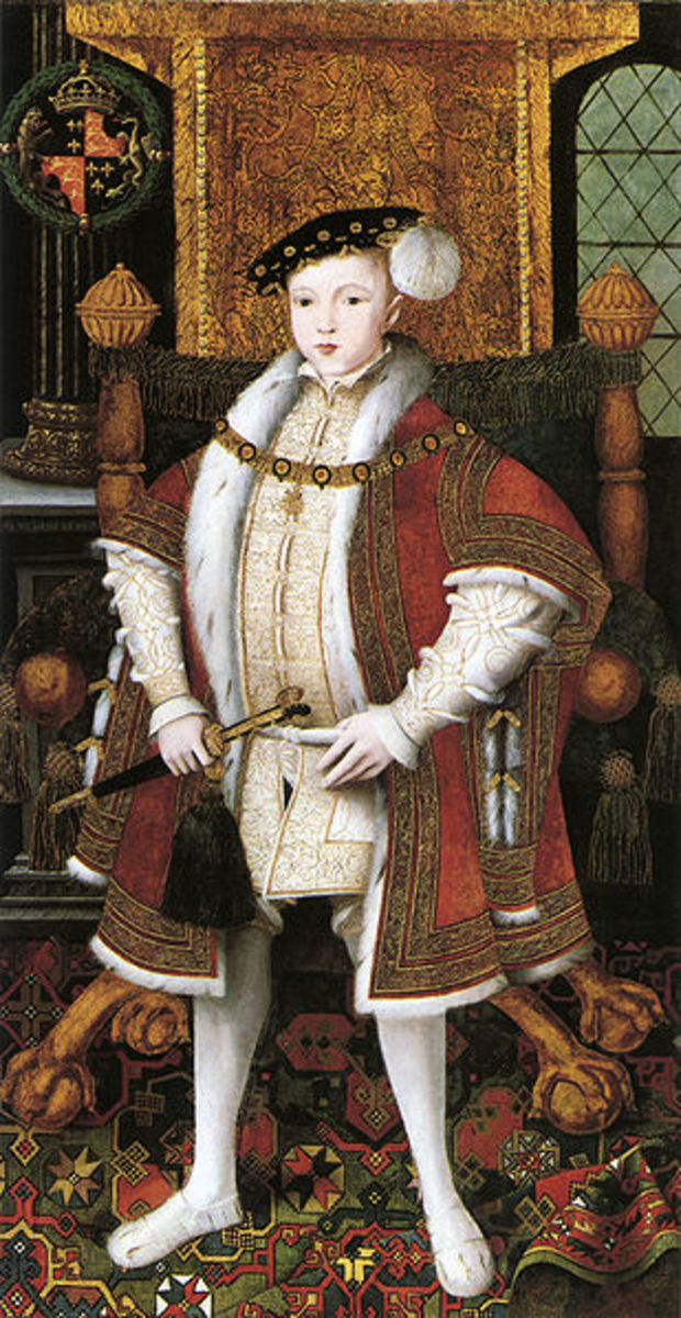 It took over a month for Edward VI to be buried